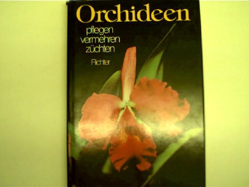 orchideen pflegen vermehren zuechten von walter richter zvab. Black Bedroom Furniture Sets. Home Design Ideas