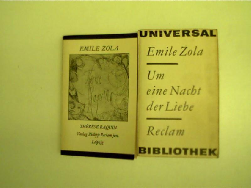 2x Reclam-Ausgaben von Emile Zola --- 1.): Zola, Émile: