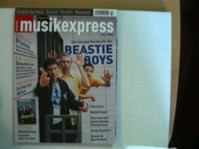 Musik Express - Sounds, Heft Nr. Juli: Autorenkollektiv: