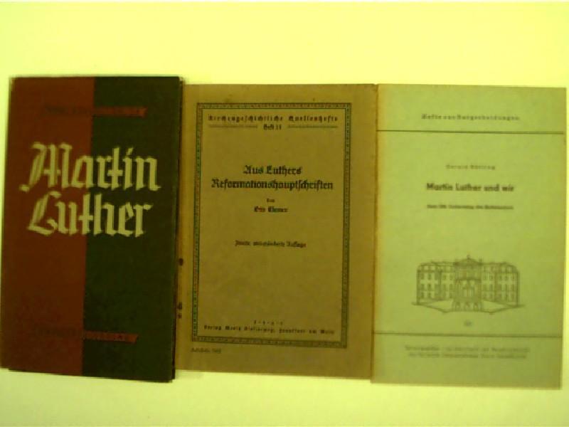 3x Martin Luther: 1. Karl Kleinschmidt: Martin: Luther, Martin, Gerald