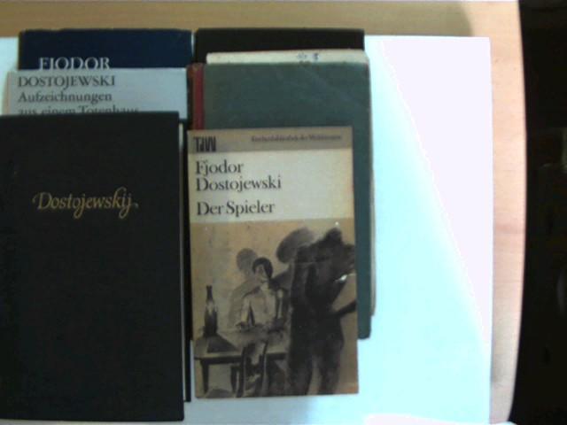 6 Bücher des russischen Schriftstellers Fjodor Dostojewski,: Dostojewski, Fjodor M.: