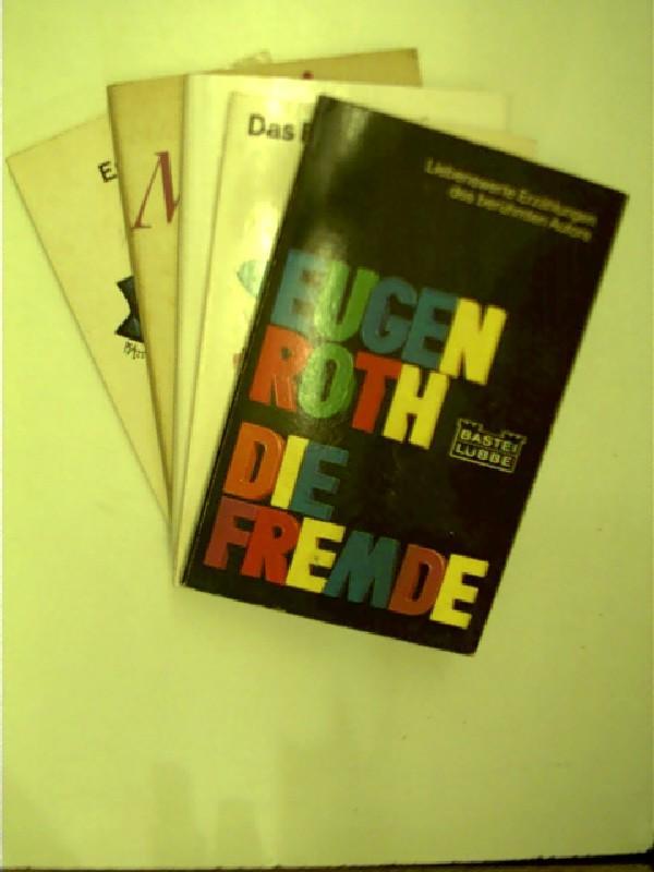 5x Bücher von Eugen Roth: 1. Ernst: Roth, Eugen: