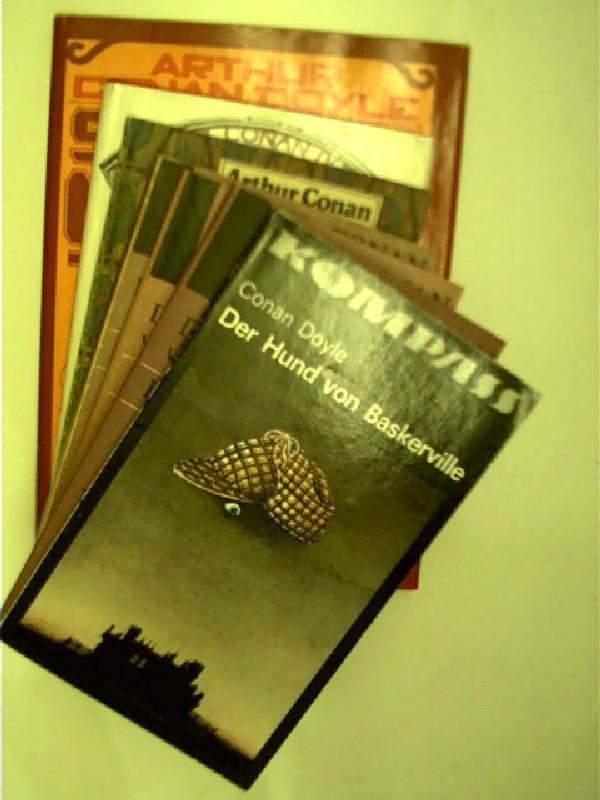 7x Bücher von A.C. Doyle: 1. Der: Doyle, Arthur Conan:
