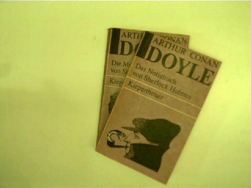 2x Bücher von Arthur Conan Doyle: 1.: Doyle, Arthur Conan,