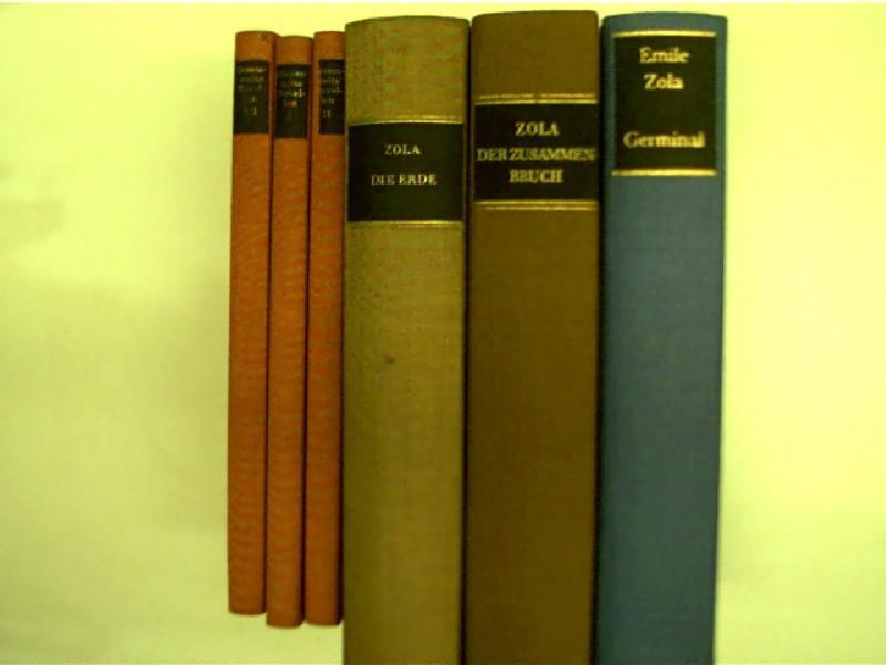 6x Bücher von Emile Zola: 1. Germinal: Zola, Émile: