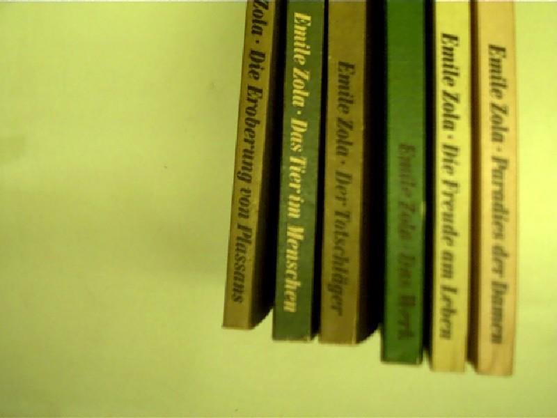 6x Bücher von Emile Zola: 1. Paradies: Zola, Émile: