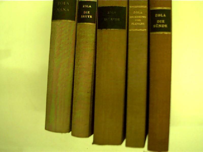 5x Bücher von Emile Zola: 1. Nana: Zola, Émile: