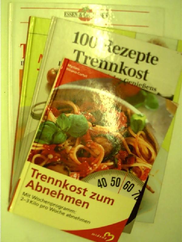 """4x Kochbücher: """"Trennkost"""": 1. Das grosse Trennkostbuch,: Hirano-Curtet, Mirjam, Marcus"""