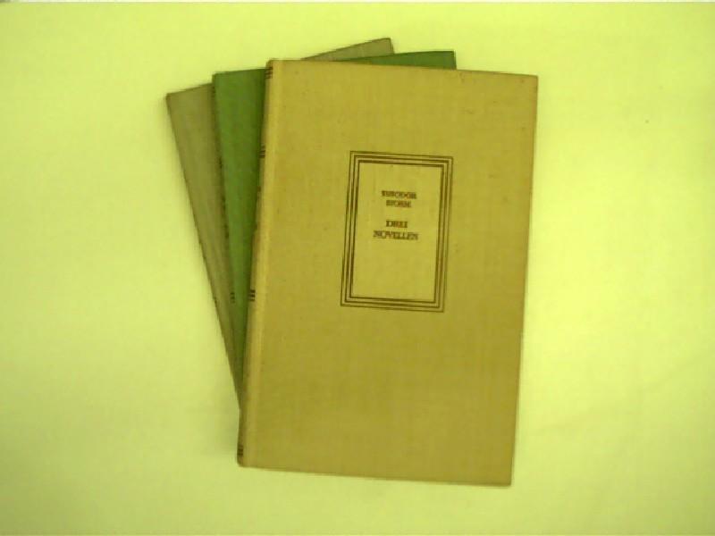 """3x Bücher """"Deutsche Volksbiblothek"""": 1. Thomas Mann: Fontane, Theodor, Theodor"""