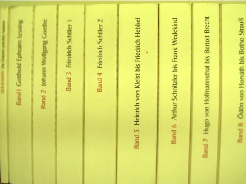 Der Kanon = Die deutsche Literatur; Dramen: Reich-Ranicki, Marcel, Arthur