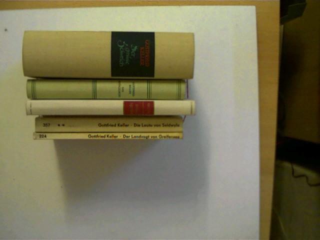 6 Bucher Vom Autor Gottfried Keller In Dieser Seltenen Sammlung 1