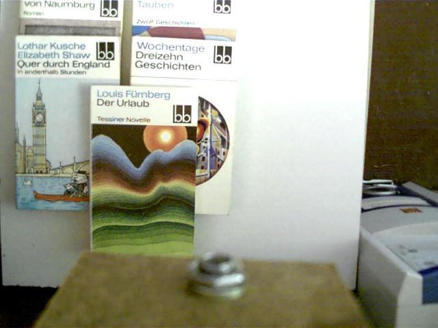 5 Bücher in dieser seltenen Sammlung: 1.: Fürnberg, Louis, Lothar