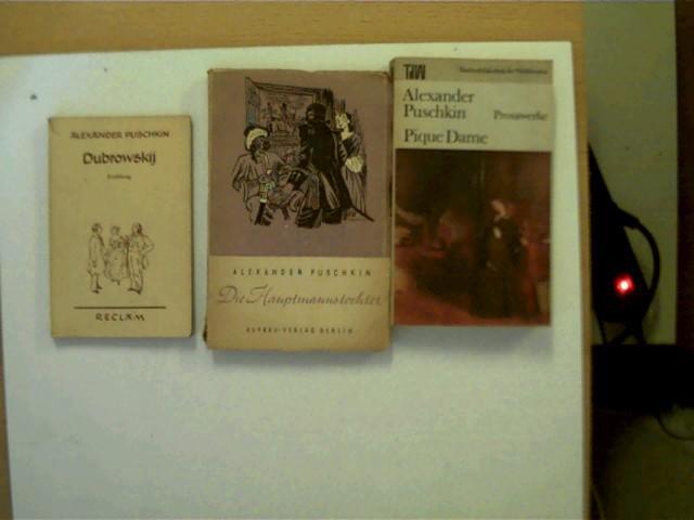 3 Bücher vom Autor Alexander Puschkin in: Puschkin, Alexander: