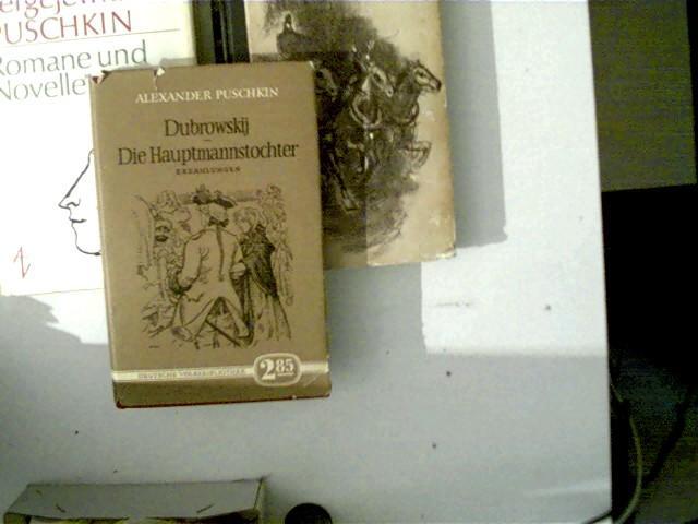 3 Bücher von Alexander Puschkin: 1. Die: Puschkin, Alexander Sergejewitsch: