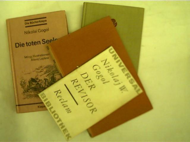4 Bücher: 1. Die toten Seelen; 2.: Gogol, Nikolaj: