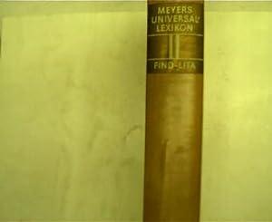 Meyers Universallexikon - Band 2, Find -: Lexikonredaktion des Bibliographisches