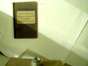 Sparkassenbuch-Quittungsbuch der Stadtsparkasse Eberswalde,: Autorenkollektiv: