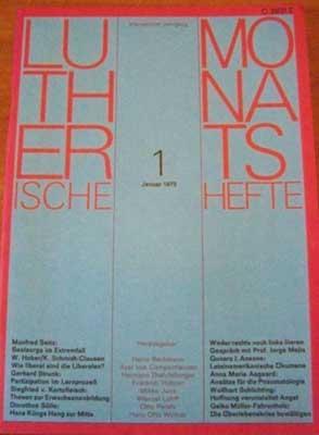 Lutherische Monatshefte, Fünfzehnter Jahrgang, 1 - Januar: Autorenkollektiv: