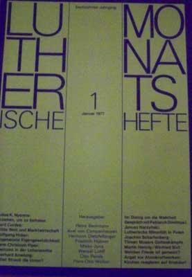 Lutherische Monatshefte, Sechzehnter Jahrgang, 8 - August: Autorenkollektiv: