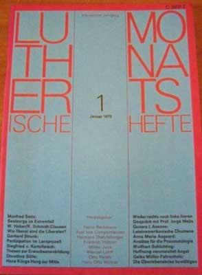 Lutherische Monatshefte, Fünfzehnter Jahrgang, 7 - Juli: Autorenkollektiv: