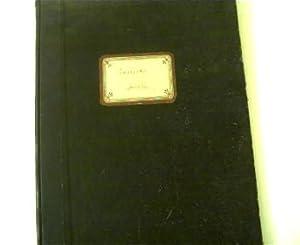 Goldenes Melodienbuch, Ausgewählte Musikstücke, Es umfasst die: Urbach, Karl: