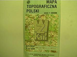 Mapa topograficzna polski - skala 1:200000, Myslyborz: Autorenkollektiv: