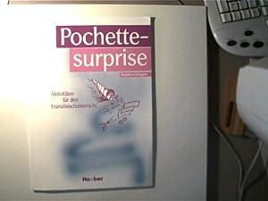 Pochette-surprise, Aktivitäten für den Französischunterricht,: Prange, Lisa und
