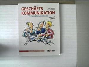 Geschäftskommunikation - Verhalndlungssprache - Buch und Cassette;: Buscha, Anne und