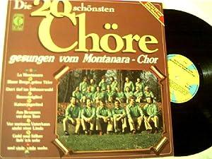 Die 20 schönsten Chöre,: Montanara - Chor: