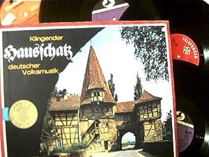 Klingender Hausschatz Deutscher Volksmusik - 4er LP-Box,: Künstlerkollektiv: