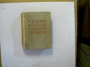 Knaurs Konversations-Lexikon, A - Z,: Autorenkollektiv: