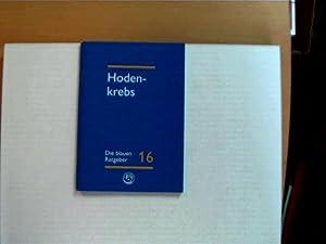Hodenkrebs; Die blauen Ratgeber 16;: Autorenkollektiv: