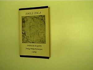 Therese Raquin, Roman,: Zola, Émile: