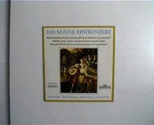 Das kleine Festkonzert, Bach, Praeludium C-Dur und: Künstlerkollektiv: