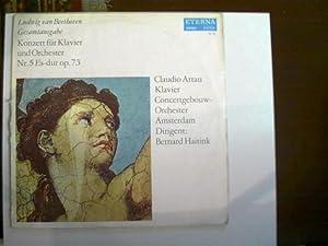2 Platten: Konzert für Klavier und Orchester: Beethoven, Ludwig van: