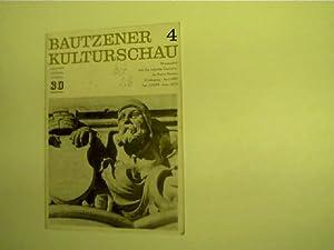 Bautzener Kulturschau, April 1980, Heft 4, Monatsschrift: Hassert, Christa Maria: