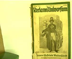 Reclams Universum, Heft 4, 22. Oktober 1925,: Autorenkollektiv: