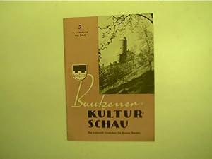 Bautzener Kulturschau - 5 / Mai 1961,: Autorenkollektiv: