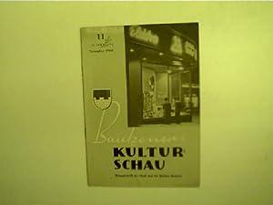 Bautzener Kulturschau - 11 / November 1960,: Autorenkollektiv: