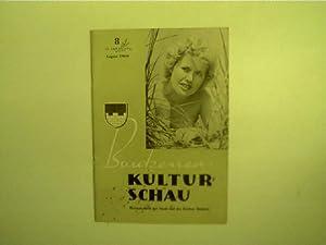 Bautzener Kulturschau - 8 / August 1960,: Autorenkollektiv: