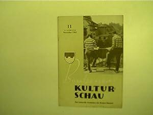 Bautzener Kulturschau - 11 / November 1961,: Autorenkollektiv: