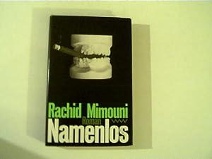 Namenlos, Roman,: Mimouni, Rachid: