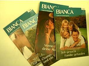 """4 Hefte der Reihe """"Bianca - Liebe: Ferrarella, Marie, Mary"""