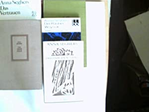 Sammlung von 5 Bücher der deutschen Autorin: Seghers, Anna: