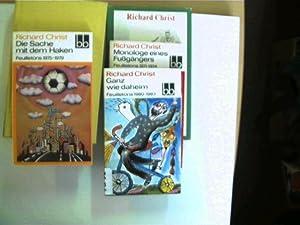 Sammlung von 5 Bücher des deutschen Autors: Christ, Richard: