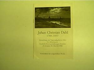 Johan Christian Dahl 1788-1857, Ausstellung der Nasjonalgalleriet: Autorenkollektiv: