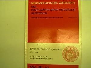 Karl Friedrich Schinkel 1781-1841, zwischen Klassizismus und: Autorenkollektiv:
