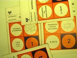 Fast vollständige Sammlung (57x) der RFT-Hefte: Mikroelektronik: Autorenkollektiv:
