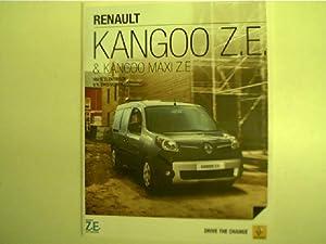 Kangoo Z.E. & Kangoo Maxi Z.E. -: Autorenkollektiv: