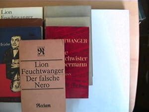 7 Bücher des deutschen Schriftstellers Lion Feuchtwanger,: Feuchtwanger, Lion: